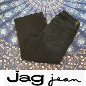 Jag size 14 wide-legged cropped jeans by jag